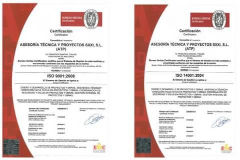 ISO 9001 y 14001 atp